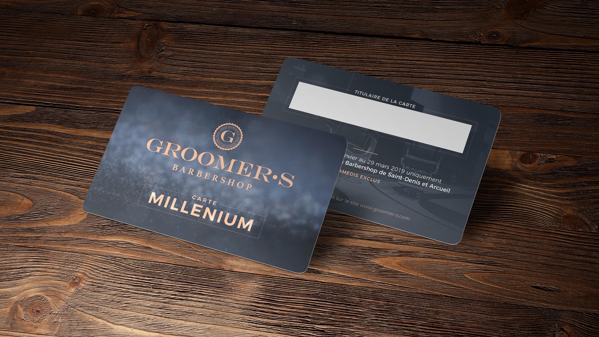 Carte Groomers Forfait Millenium