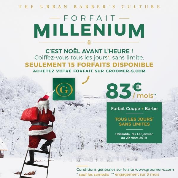 Insta G-Lab Forfait Millenium Noel 2018