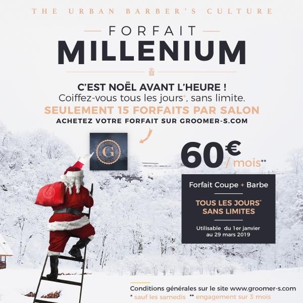 Insta Groomers Forfait Millenium Noel